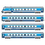 Hobbytrain N CD Railjet客車7両セット